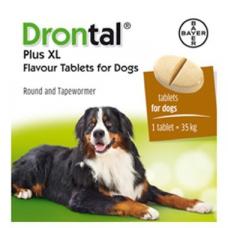 ドロンタールプラスXL超大型犬用フレーバー錠(2錠×5=10錠)