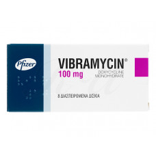ビブラマイシン(ドキシサイクリン100mg)100錠