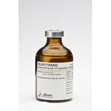 ヌロトラン(アセプロマジン10mg/ml)50ml注射液/Neurotranq injectable 50ml