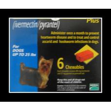 ハートガードプラス小型犬用(0-11kg)6個入り