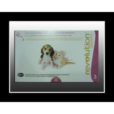 レボリューション超超小型犬、猫用(2.5kg以下)6本