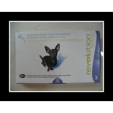 レボリューション超小型犬用(5kg以下)6本