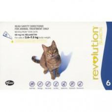 レボリューション猫用(2.6-7kg以下)6本